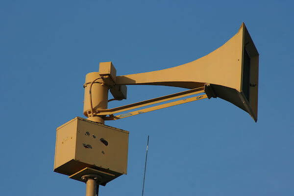 Dream meaning of tornado siren: What does it mean when a tornado siren sounds in dream?